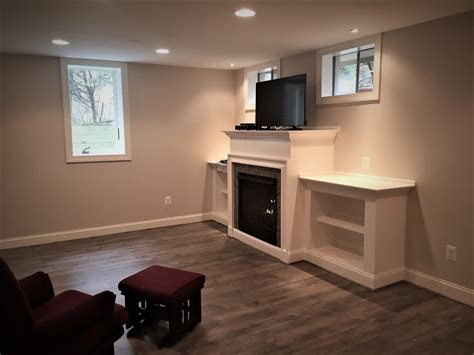 basement renovation services small table ls for kitchen