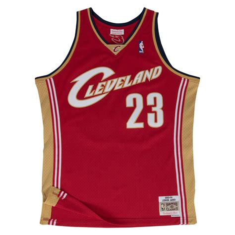 swing man jersey lebron james cleveland cavaliers nba hwc throwback rookie