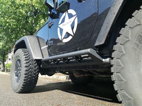 pedane jeep pedane laterali jeep jk power garage preparazione jeep jk