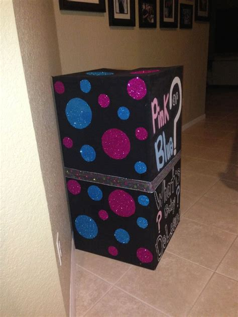 boxes ideas 17 best images about gender reveal box ideas on