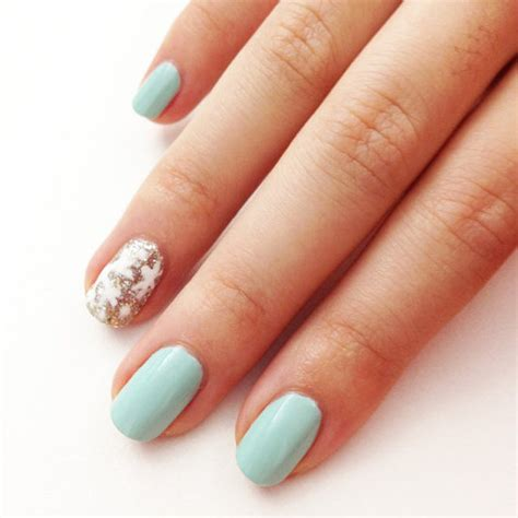 simple nail simple snowflake nail popsugar