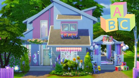 in house daycare the sims 4 house building blossom s toddler daycare youtube
