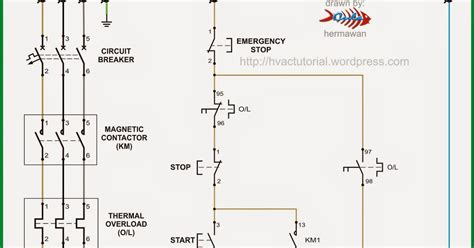 dol starter circuit diagram explanation thqdirect on line