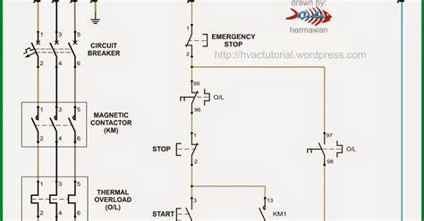 schematic wiring diagram of dol starter k