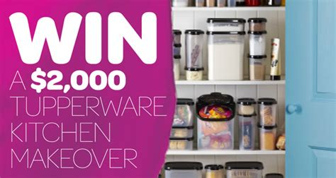 how to win a free kitchen makeover tupperware australia win a 2k kitchen makeover