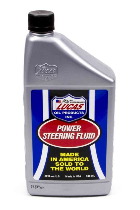 Lucas Power Steering With Conditioner lucas power steering fluid 1 qt p n 10824 ebay