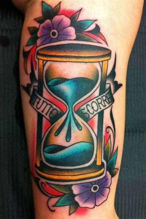 hour glass tattoo designs 1000 ideas about hourglass on tattoos