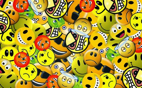 emoticon wallpaper free download smiley face background hd wallpaper for mobile facebook