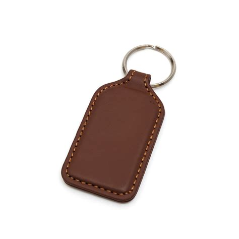 Leather Keyring promotional p 004 leather keychain goodomen industrial