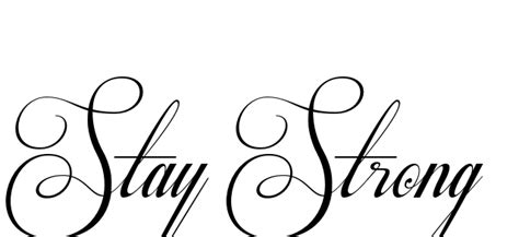 tattoo font respective slanted 15 latest stay strong tattoo designs