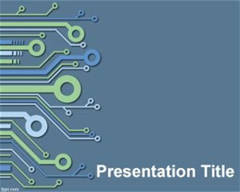 powerpoint themes for computer engineering electronic powerpoint template