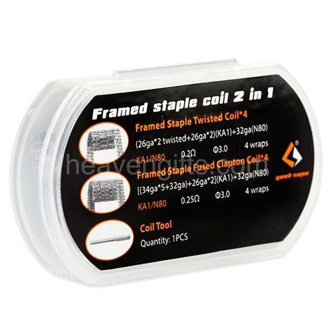 Sale Ciput Marsha 2in1 Promo 8pcs geekvape framed staple coil 2 in 1