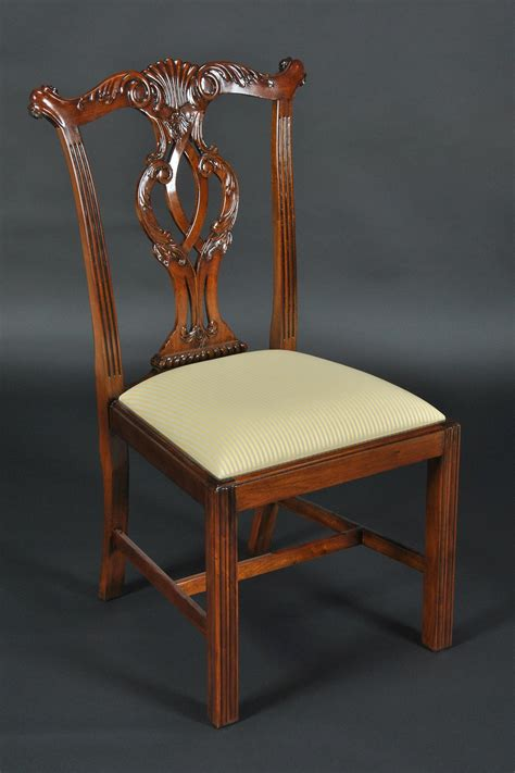 room chair chippendale leg dining room chairs philidelphia style cambridge chairs