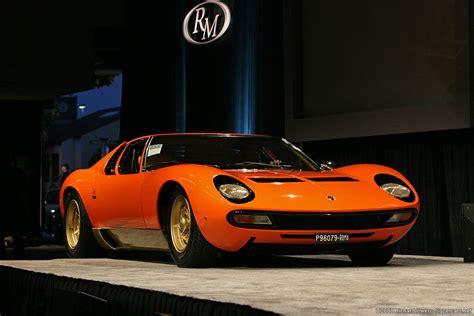 1971?1973 Lamborghini Miura P400 SV   Lamborghini