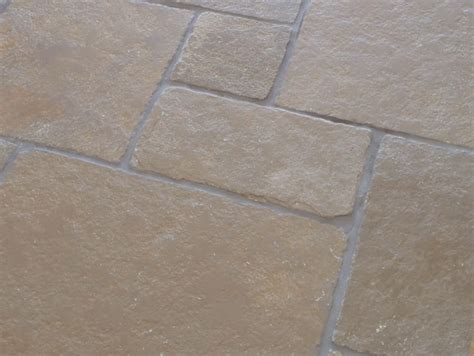 Limestone Floor by Classical Limestone Brushed Opus Pattern Limestone