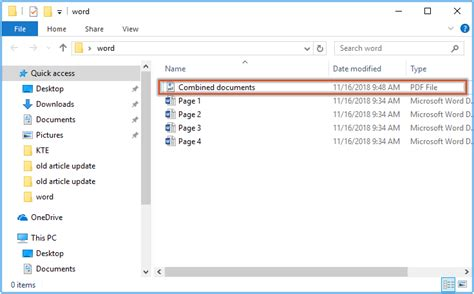 How To Combine Two Word Documents Into One