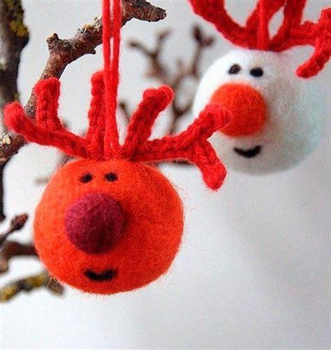 decorar bolas de navidad con fieltro adornos originales para decorar el 225 rbol de navidad