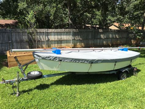 sailboats for sale in texas blue jay one design sloop 1970s euless texas sailboat