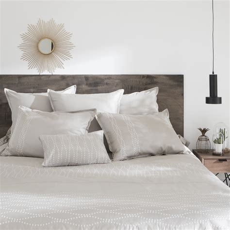 Parure De Lit Carre Blanc parures de lit adulte linge de lit fantaisie carr 233 blanc