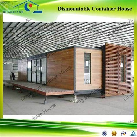 Duplex Housing 20 foot modular restaurant shipping container house in