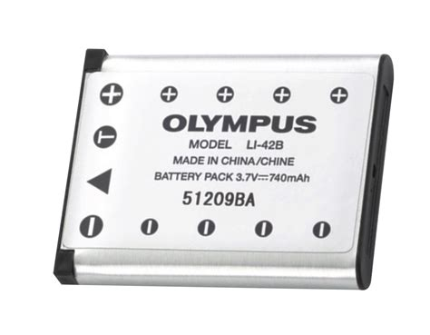 Baterai Kamera Olympus Li 42b digital wish olympus li ion rechargeable battery li 42b