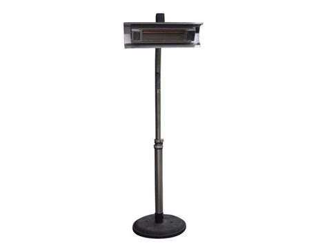 Mojave Sun Stainless Steel Electric Patio Heater The Mojave Sun Patio Heater