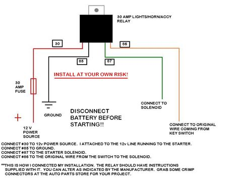 solenoid wiring diagram for tractor 28 images kawasaki