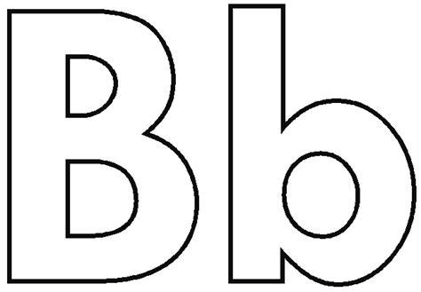 Coloring pages alphabet letters letter b2 jpg