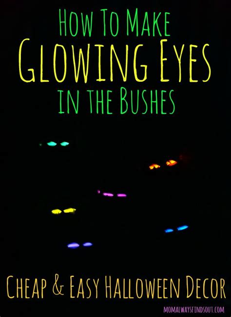 How To Make Glow In The Toilet Paper - diy decorations glowing in the bushes