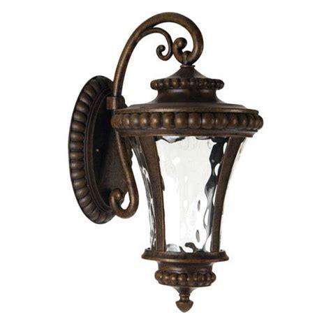 prescott bronze glass table l clear glass wall mount light bellacor