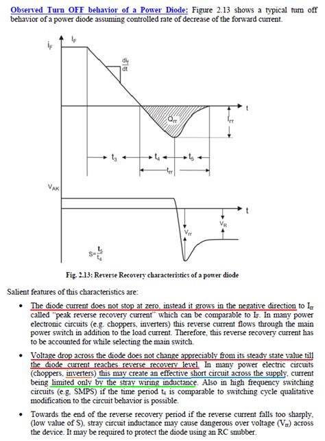 what is a recovery diode what is diode recovery problem 28 images pn junction physical and mathematical description