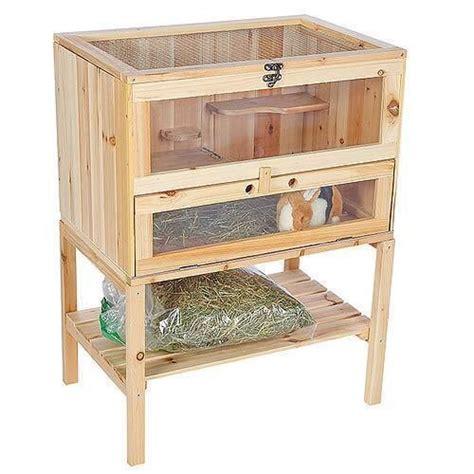 conejeras de madera caseras 17 mejores ideas sobre jaulas de conejos en pinterest