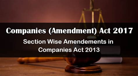 corporations act section 50 companies act 2017 amendment act cscartindia