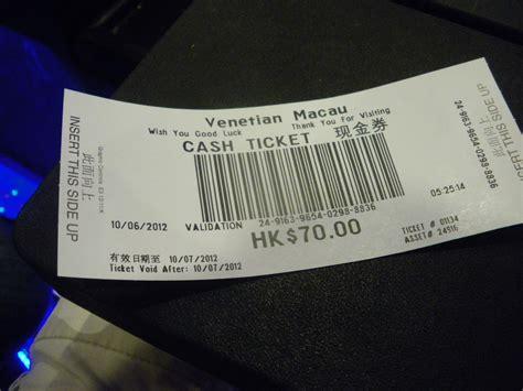 Winning Money At Casino - the night i won money in a macau casino