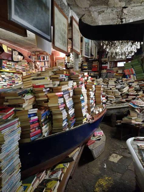 libreria acqua alta di frizzo luigi самый красивый книжный магазин в мире это libreria acqua