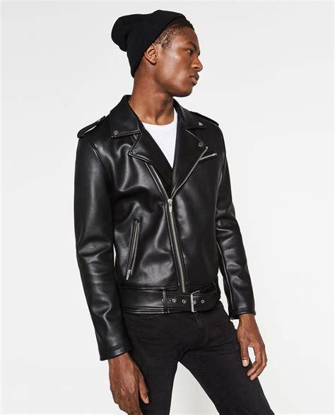 chaquetas de cuero hombre zara chaqueta de cuero zara hombre temporada de la moda