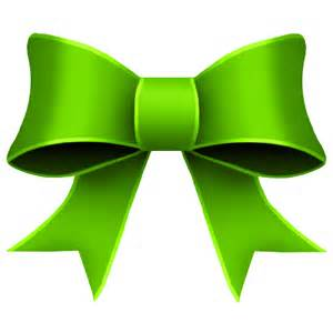 green ribbon christmas clipart clipart suggest