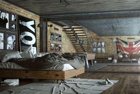 Chambre Industrielle Moderne by Chambre Style Industriel En 36 Id 233 Es De Chic Brut Authentique