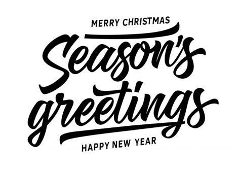 merry christmas seasons  inscription vector
