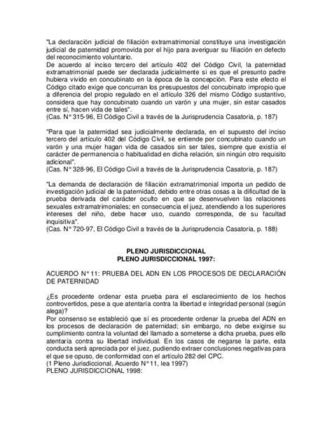 pareja en matrimonio declaraci 243 n jurada de no poseer registro civil apuntes declaracion judicial de paternidad