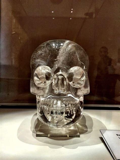 british museum crystal skull  crystal tree