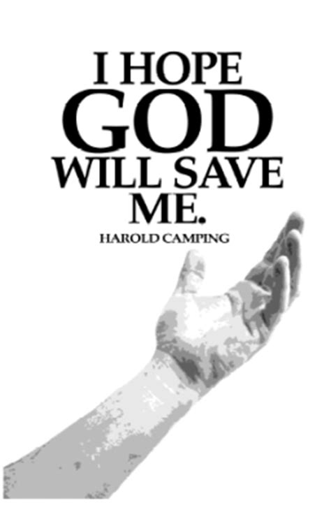 I Hope God Will Save Me.