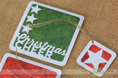 free silhouette cameo christmas cards cut file quick easy christmas cards and tags with digital cut