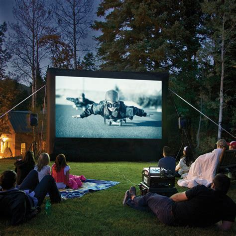 backyard movie night rental archery party cheer for your favorite team in style