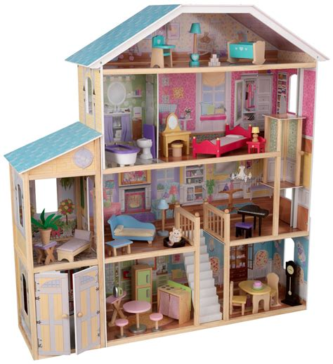 dollhouse 34 pieces kidkraft majestic mansion dollhouse with furniture just