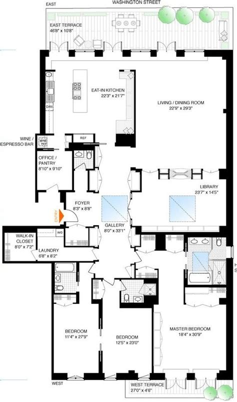 4 floor apartment plan the 25 best apartment floor plans ideas on