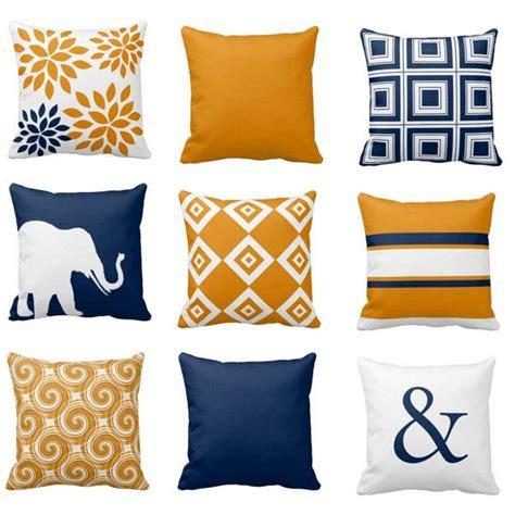 25 best ideas about orange throw pillows on pinterest