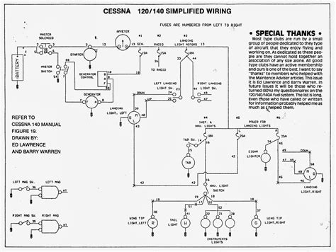 cessna 140 rebirth electrical loads wiring