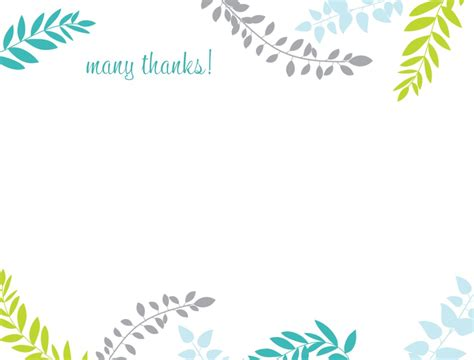 printable thank you card template harmonia gift s day ideas card