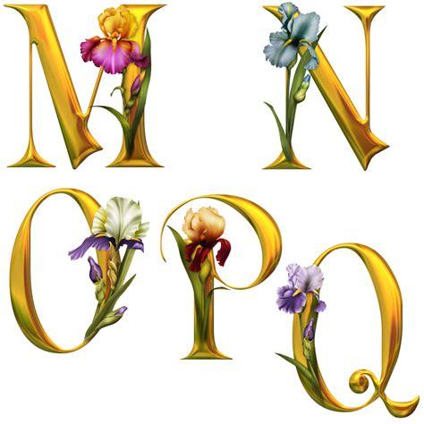 lettere alfabetiche render caract 232 res renders alphabet lettres fleurs
